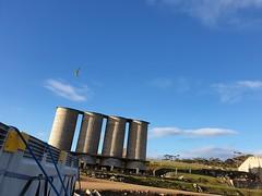 Those cement silos on Maria Island