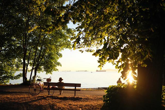 English Bay Summer