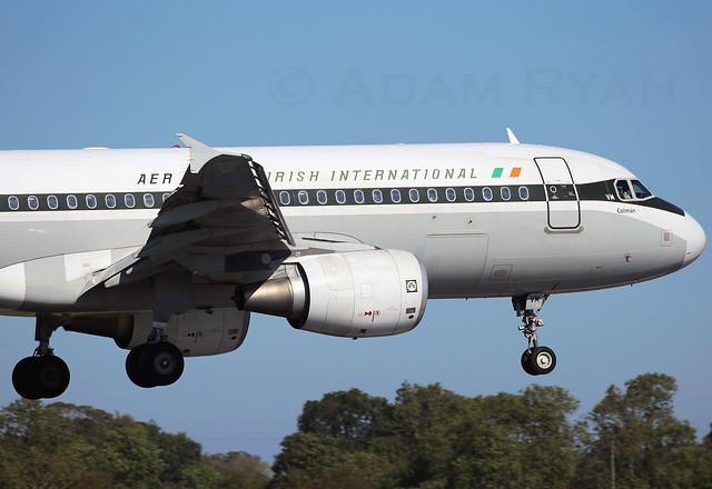 EI-DVM - Aer Lingus A320 Retrojet