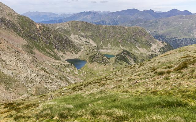 Estanys de les Canals Roges i de Siscaró, Andorra