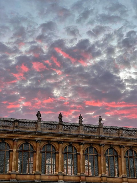 Cambridge sunset 25 July 2021