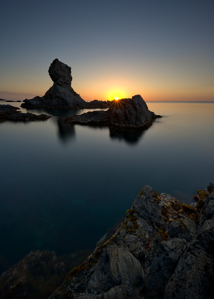 Another beautiful and calm sunrise at Cap Castell de Velló