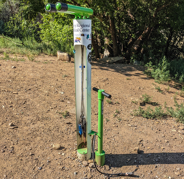 Trailhead in Durango