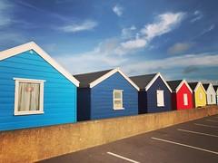 Southwold beach huts . . #southwold #southwoldbeach #southwoldbeachhuts #beach #beachhuts #summer #suffolkcoast #suffolk