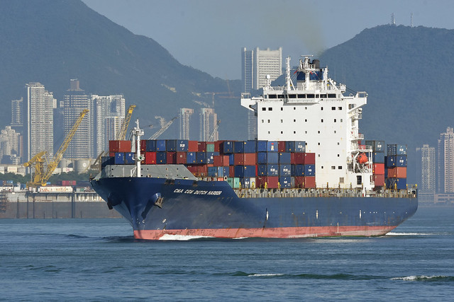 xxx 03 CMA CGM Dutch Harbor (IMO: 9389409)