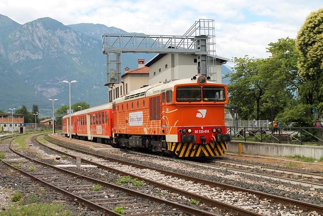 Il Treno dei Sapori in partenza..