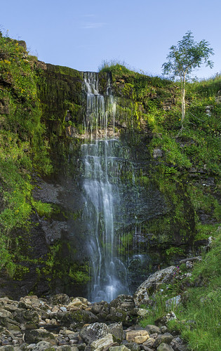 landscape yorkshire northyorkshire yorkshiredales whernside forcegill waterfall longexposure
