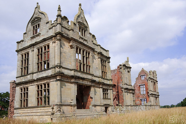 Moreton Corbet Castle Ruins (South Wing)