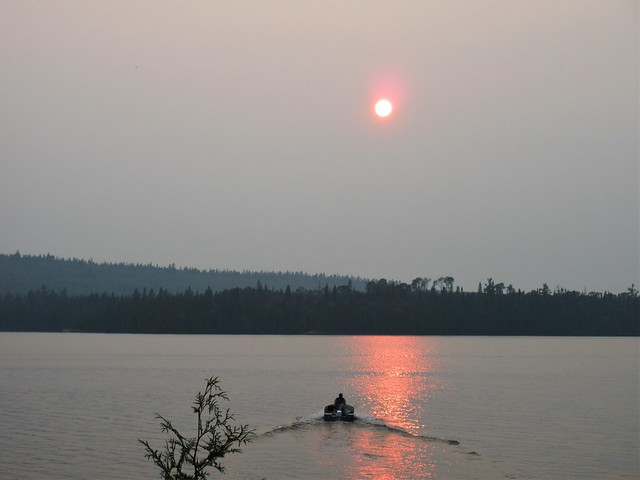 Wildfire smoke and haze