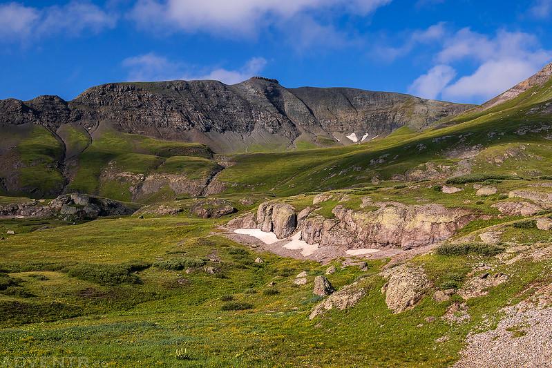 Spencer Basin to Mount Rhoda