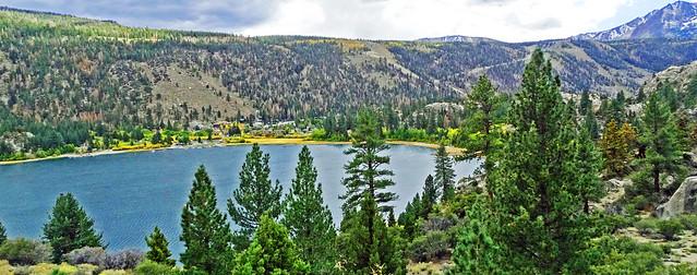 Village of June Lake, Sierra Nevada, CA 2017