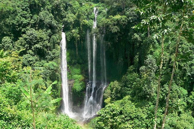 Air terjun - waterfall Sekumpul, Bali