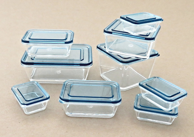 Just Some Miniature Storage Containers