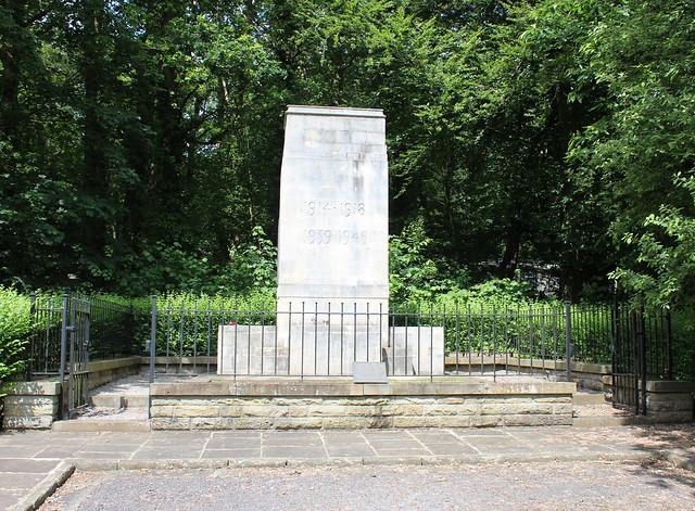 War Memorial, St Fagans Museun of Welsh Life.