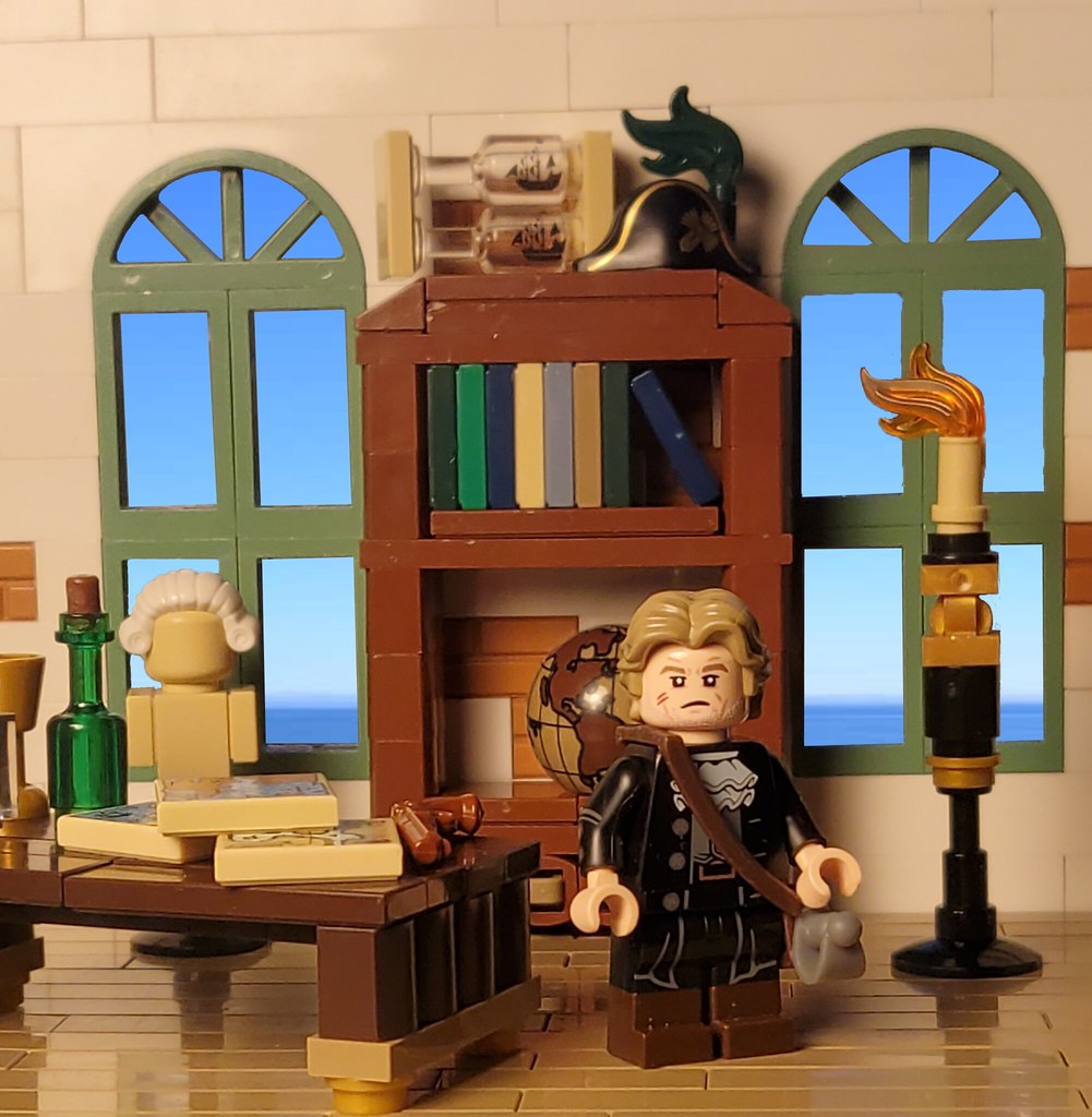 Captain Edward Scarver - BoBS character Introduction, read story on eurobricks