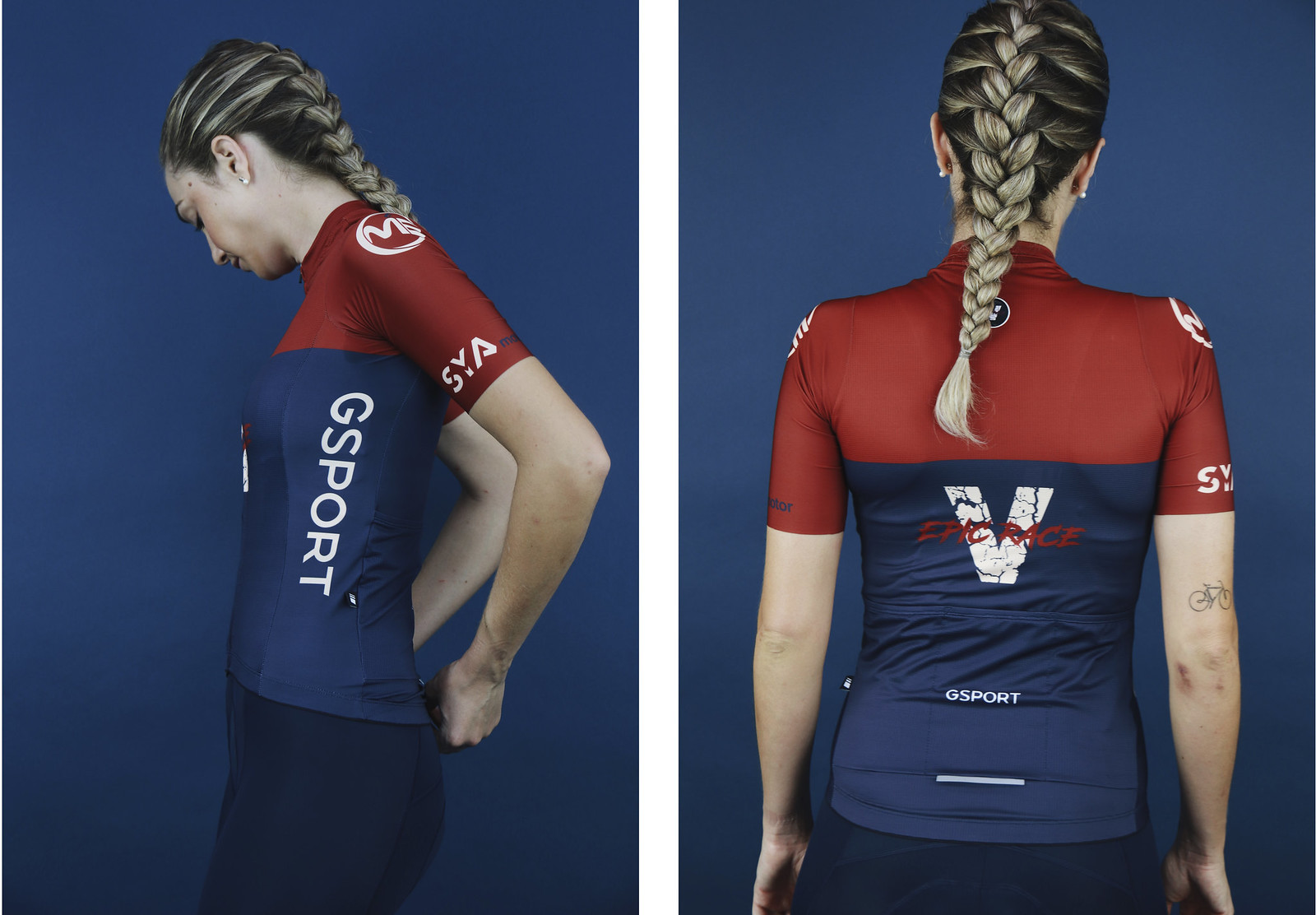 Maillot V Epic Race Mujer