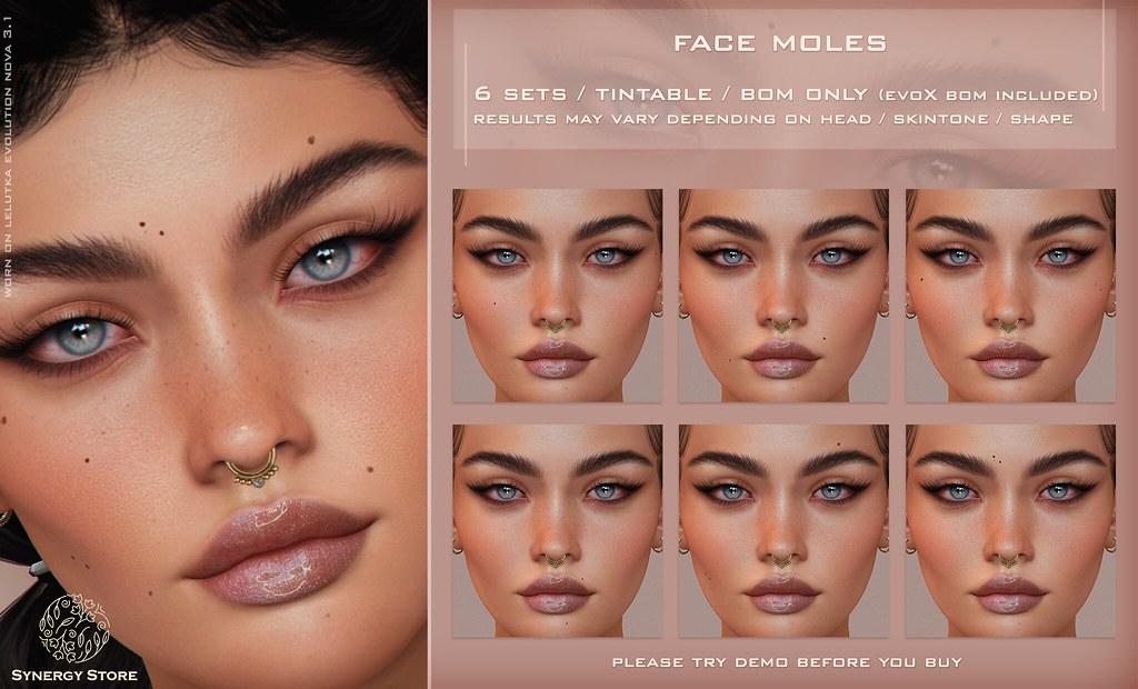 Synergy – Face Moles 01 BOM