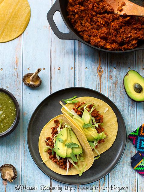 Shiitake Tacos 1