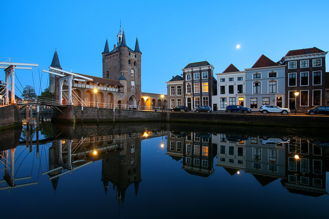 ABM (Another Blue Monday) / Zierikzee during blue hour, the Netherlands