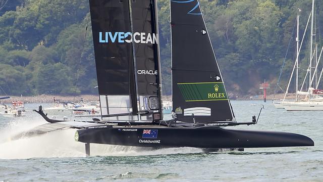 SailGP Plymouth, UK 17-18 July 2021