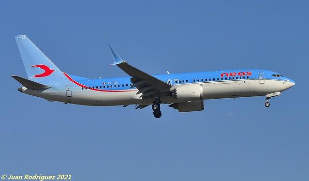 EI-RZB - NEOS - Boeing 737-8 MAX - PMI/LEPA
