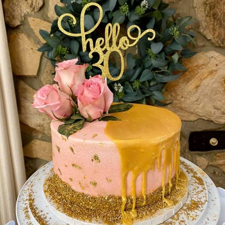Cake by Jo-Rita Clayton of Jo-Rita's Confections
