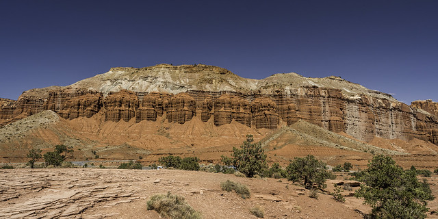 Mummy Cliffs on Utah State Route 24
