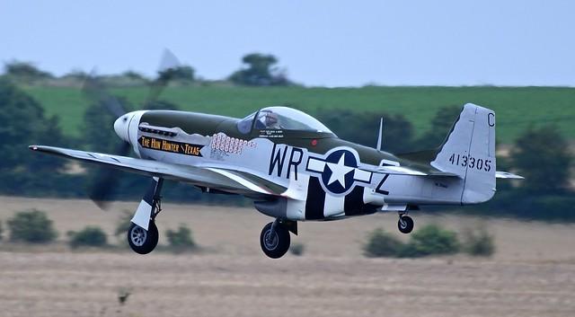 North American P51 D Mustang N351MX USAAF 44-74391 413305 The Hun Hunter\Texas