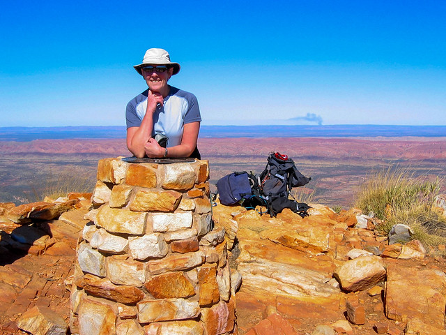 Fran – Summited Mt Sonder, West McDonnell National Park, Northern Territory