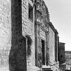 The front facade of Iglesia de Santa Maru00eda la Mayor