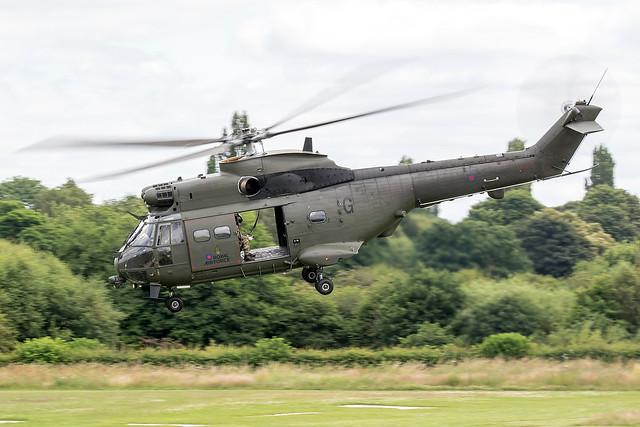 XW216 / Royal Air Force / Westland Puma HC2