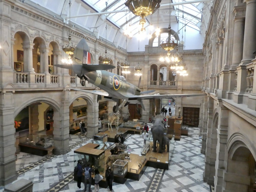 A Spitfire at Kelvingrove Art Gallery and Museum, Glasgow