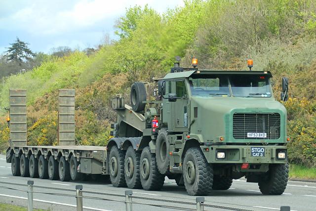 Oshkosh Military Transporter HF53 BXD
