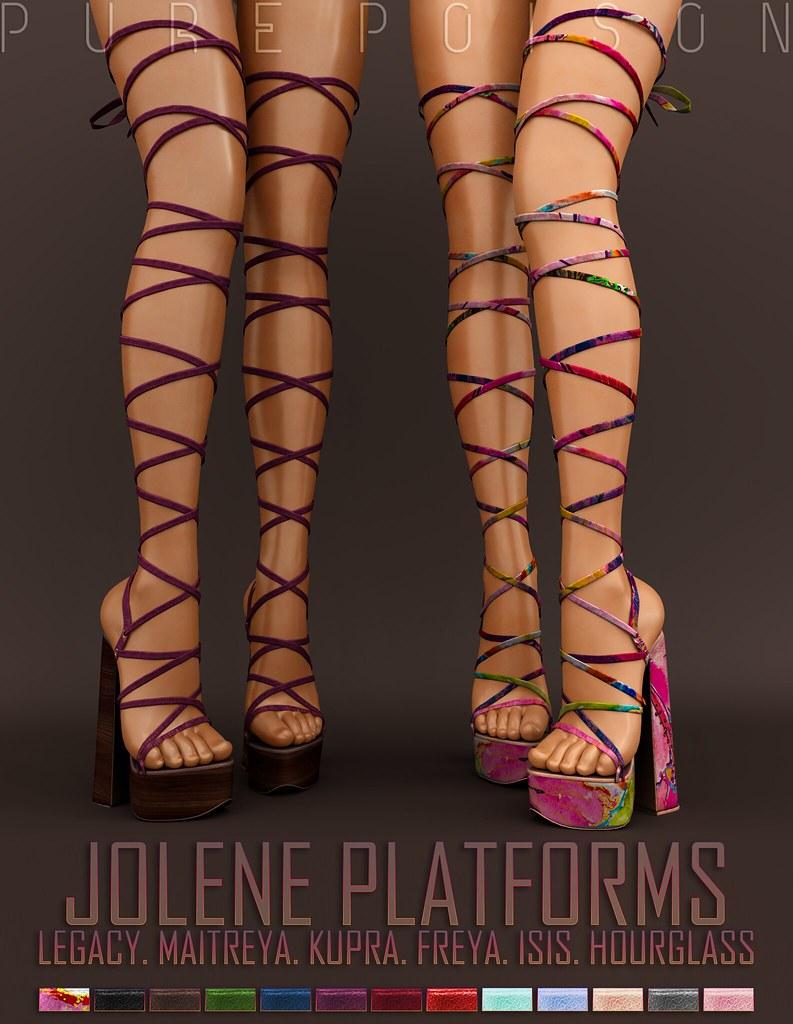 Pure Poison – Jolene PLatforms – UBER