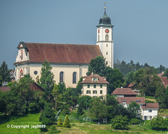 Roman-Catholic Church, Knutwil, Canton of Lucerne, Switzerland