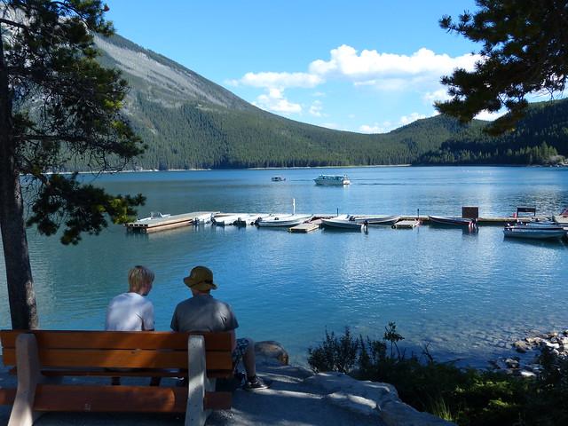 Relaxing At Lake Minnewanka [Explored]