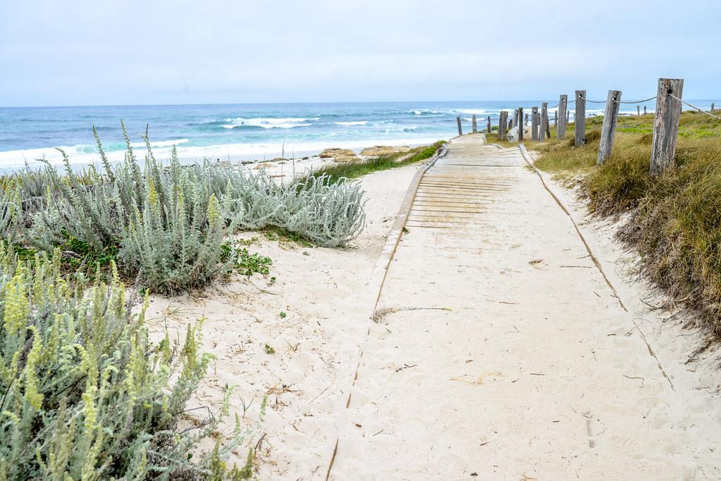 Spanish Bay boardwalk