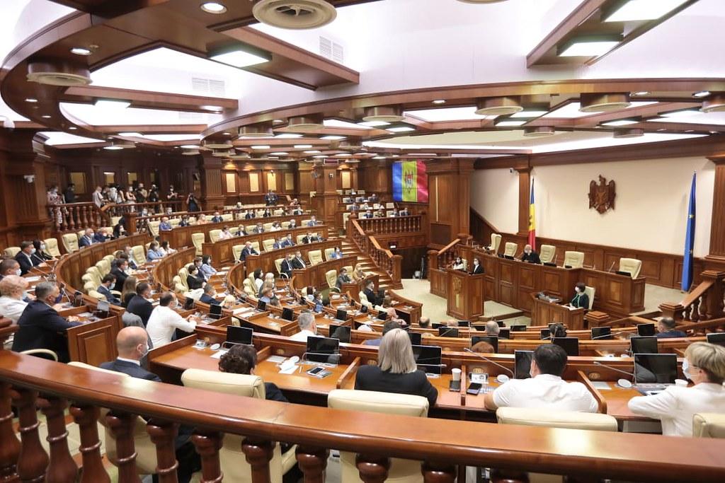 26.07.2021 Ședința de constituire a Parlamentului Republicii Moldova de Legislatura a XI-a
