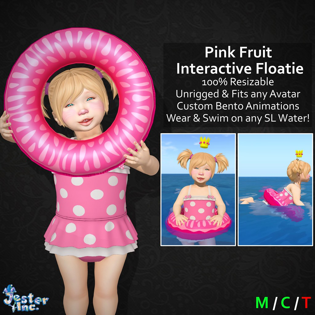 Presenting the new Interactive Floaties from Jester Inc.
