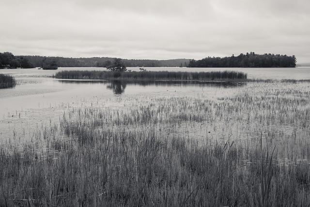 Cobbosseeconte Lake, Maine.