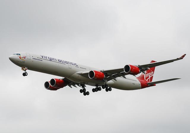 G-VBUG. Virgin Atlantic Airbus A.340-642