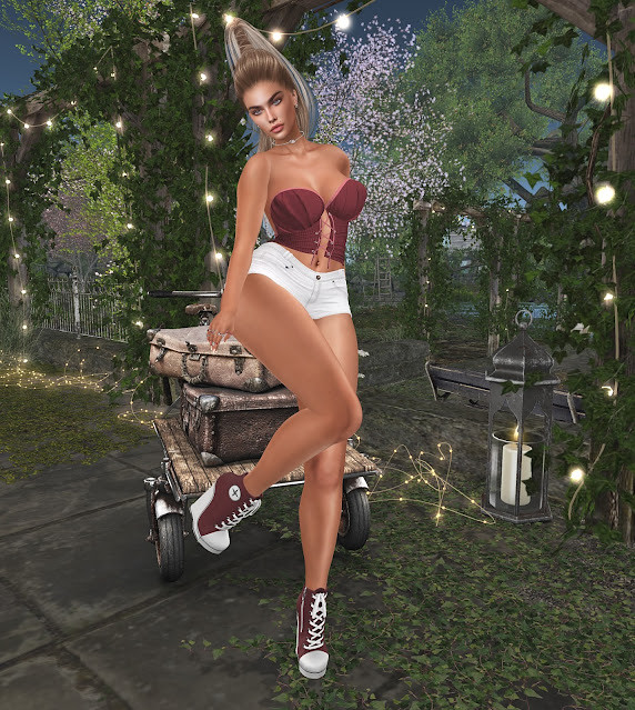 ALLURE COUTURE EMBERS SHORTS OUTFIT @ 2 MUCH EVENT STARTS JULY 29 TO AUGUST 16, 2021