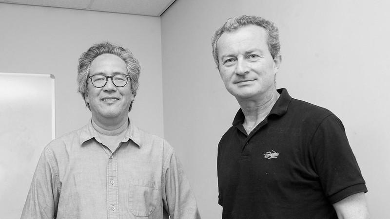 Global Chair Prof Purugganan and Milner Centre Director