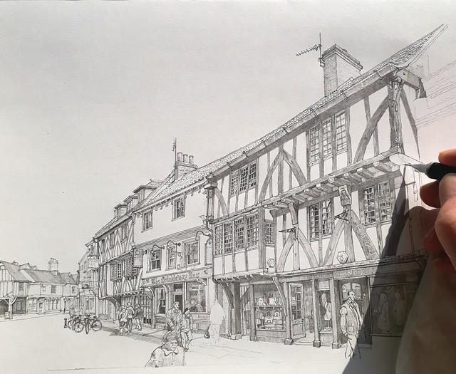Goodramgate, York (WiP 7)