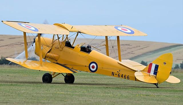 De Havilland DH-82A Tiger Moth G-ANKZ  N-6466