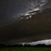 Shelf Cloud Lightning
