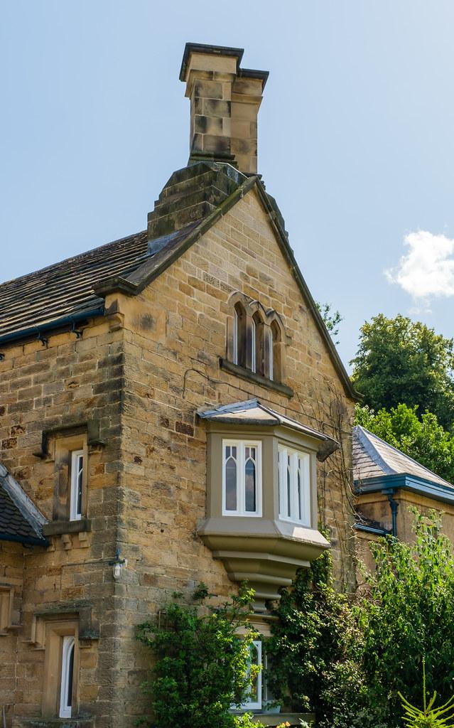 Chatsworth Estate, Edensor village