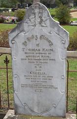Kain gravestone