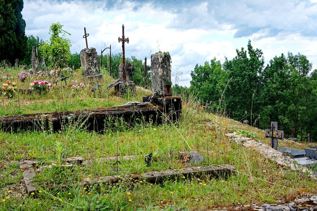 cimetière aux herbes folles