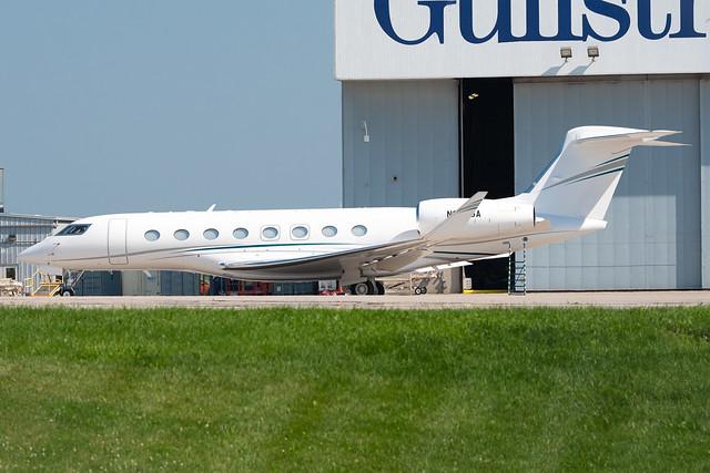 N656GA Gulfstream G650ER 6456 KATW
